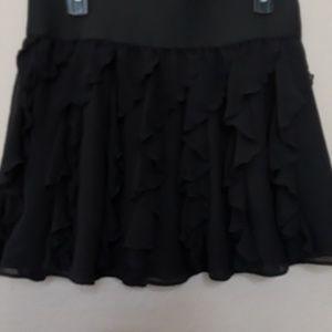 Ladies mini skirt.